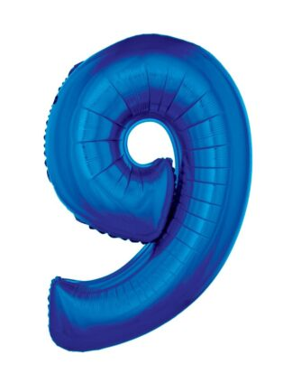 Mylar Numbers Blue