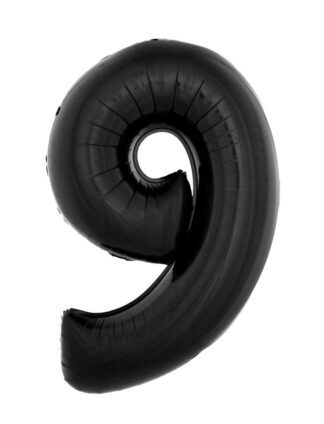 Mylar Numbers Black