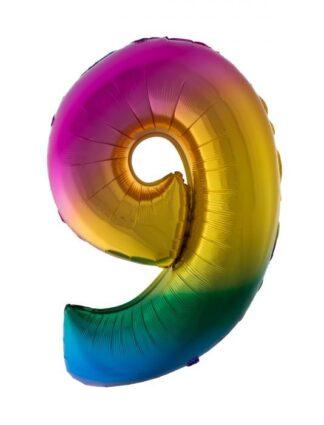 Mylar Numbers Rainbow